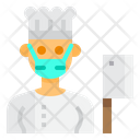 Chef Cooker Occupation Icon