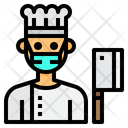 Chef Cooker Man Icon
