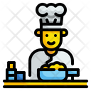 Chef Cooker Professions Icon
