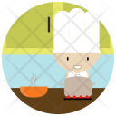 Chef Cooking Class Icon