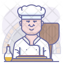 Bakery Chef Cooking Icon