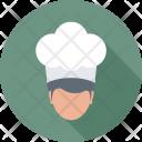 Chef Cook Head Icon