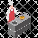 Egg Beating Egg Beating Machine Egg Beater Icon