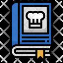 Chef Book Cooking Book Recipe Book Icon