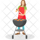 Chef Cooking Icon