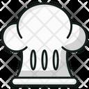 Chef Hat Chef Cap Headgear Icon