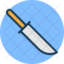 Chef Knife Cutting Tool Kitchen Accessory Icon