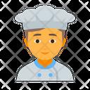 Chef male Icon