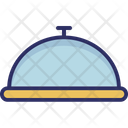 Chef Platter Food Platter Food Serving Icon