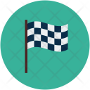 Chekkered Flag Checkpoint Icon