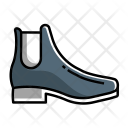 Chelsea Boot Shoes Icon