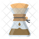 Cafe Chemex Coffee Icon