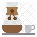 Chemex Coffee Maker Coffee Icon