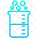 Beaker Bikar Chemical Research Equipment Icon