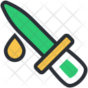 Chemical Dropper Color Icon