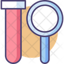 Chemical Analysis Chemical Evaluation Chemistry Lab Icon