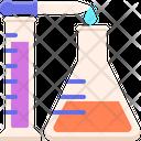 Mchemical Analysis Chemical Analysis Chemical Evaluation Icon
