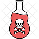 Chemical Bottle Chemical Flask Poison Bottle Icon