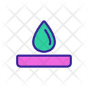 Chemical Drop Icon
