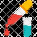 Chemical Dropper Dropper Lab Testing Icon