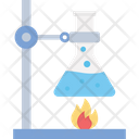 Chemical Experiment Chemical Reaction Hazard Chemical Icon