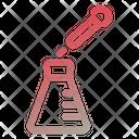 Chemical Experiment Vaksin Drug Icon