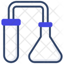 Chemical Experiment Lab Apparatus Laboratory Test Icon