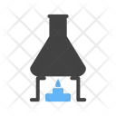 Chemical Experiment Flask Icon
