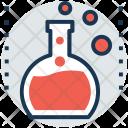 Flask Erlenmeyer Test Icon