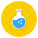 Chemical Flask Conical Flask Erlenmeyer Flask Icon