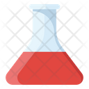 Chemistry Flask Conical Flask Chemical Testing Icon