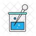 Beaker Experiment Chemical Icon