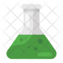 Chemical Flask Chemistry Flask Lab Practical Icon