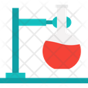 Chemical Flask Conical Flask Lab Research Icon