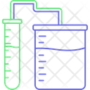 Chemical Flask Lab Glassware Lab Research Icon