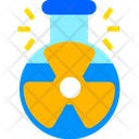 Chemical Flask Radiation Conical Flask Icon