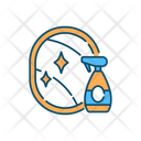 Household Chemical Bottle Icon