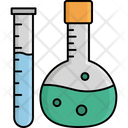 Chemical Lab Conical Flask Flask Icon