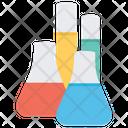 Chemical Laboratory Chemistry Lab Glassware Icon