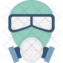 Danger Sign Danger Symbol Gas Mask Icon