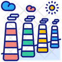 Chemical Pollution Icon