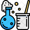 Chemical Reaction Lab Apparatus Chemical Test Icon