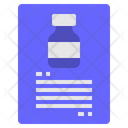 Chemical Report Chemical Report Icon