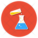 Chemical Research Lab Research Experiment Icon