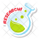 Chemical Flask Lab Flask Chemical Research Icon