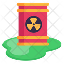 Chemical Barrel Chemical Spill Barrel Spill Icon