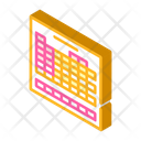 Table Chemical Elements Icon