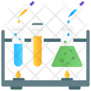 Chemical Experiment Lab Test Chemical Reaction Icon