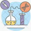Chemical Test Experiment Laboratory Test Icon