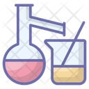 Chemical Testing Chemical Flask Lab Apparatus Icon